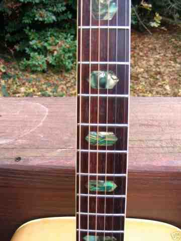 Cortley CF 75 Neck with Abolone Position Markers