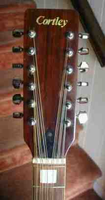 Cortley CF 150 Headstock!