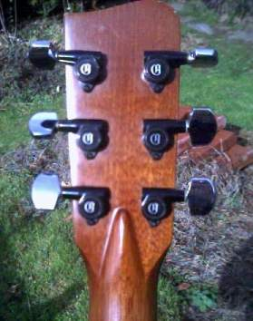 CF 30 Headstock - Back View