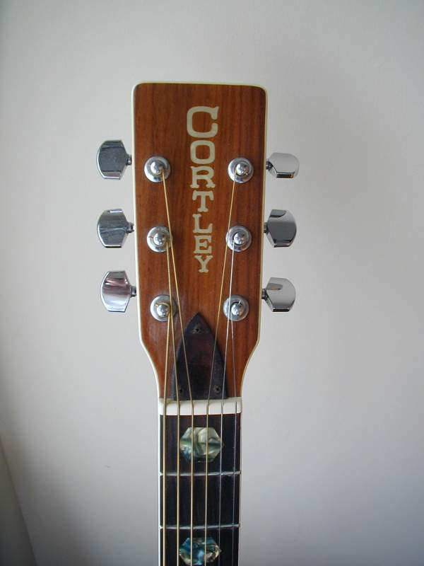 Cortley J 6000 Headstock