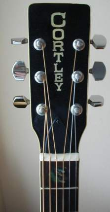 Cortley CF75 Headstock